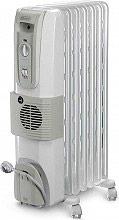 De Longhi Termosifone Elettrico Radiatore ad Olio Stufa 7 Elementi KH770720V
