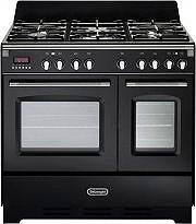 De Longhi Cucina a Gas 5 Fuochi Forno Elettrico Ventilato 90x60 cm - MEM 965 TNN