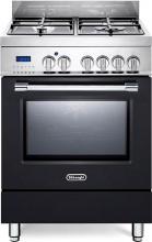 De Longhi PRO 66 MA ED Cucina a gas 4 Fuochi Forno Elettrico Ventilato 60x60 cm PRO66MA ED