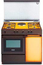 De Longhi SEK 8541 N Cucina a Gas 4 Fuochi 1 Piastra Forno Elettrico 86x50 cm
