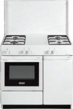De Longhi Cucina a Gas 4 Fuochi Forno Elettrico Grill 86x50 cm Bianco - SEW 8540