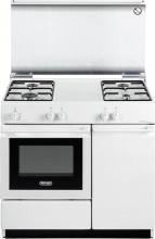 De Longhi SEW 8540 N Cucina a Gas 4 Fuochi Forno Elettrico Grill 86x50 cm Bianco - SEW 8540