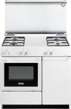 De Longhi SEW 8540 NED Cucina a Gas 4 Fuochi con Forno Elettrico Grill 86x50 cm SW 8540 NED