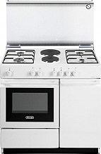 De Longhi SEW 8542 N Cucina a Gas 4 Fuochi 2 Piastre Forno Elettrico 86x50 cm