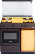 De Longhi Cucina a Gas 4 Fuochi Forno a Gas 86x50 cm Coperchio - SGK 854 N