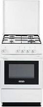 De Longhi SGW 554 GN Cucina a Gas 4 Fuochi Forno a Gas 50x50 cm Bianco