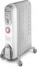 De Longhi Termosifone Elettrico Radiatore ad Olio Stufa 9 Elementi V550920T