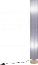 DecHome B310D8 Lampada Da Terra Stelo Piantana Salotto Paralume 15x15x120cm