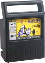 Deca 300400 Caricabatterie Elettronico Batterie 30 Ah Tensione 12 Volt  MATIC 113