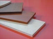 Decorlegno 40623 Mensola legno 100x60x1.8 cm 5 Pezzi Bianco
