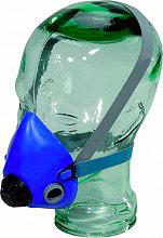 Deltaplus Maschera con Filtro Facciale Respiratoria Cinghie elastiche M3200BL