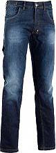 Diadora 159590-60002 M Pantalone Lavoro Jeans 5 tasche Tg. M Blu - Stone - 159590-60002