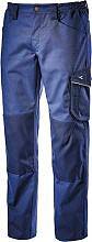 Diadora Pantalone Lavoro con Tasca laterale Portametro Tg. XL Blu 160303-60062