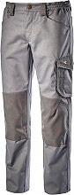Diadora Pantalone Lavoro con Tasca laterale Portametro Tg. M Grigio 160303-75070