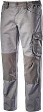 Diadora Pantalone Lavoro con Tasca laterale Portametro Tg XL Grigio 160303-75070