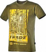 Diadora 171200-70226 T-Shirt Maglietta a Maniche corte in Cotone Tg. L Col. Verde 171200 Gra