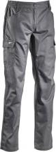 Diadora 173550.C06 75070 Pantalone da Lavoro Multitasche Cotone Poliestere XXL Grigio Level 75070