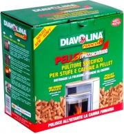 Diavolina 15020 Pulitore Spazzacamino Pellet Kg 1.5