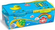 Dido 396701 Pasta modellabile Blu Giallo