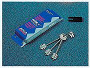 Dierre BLO3210 Blocchetto Serratura con 3 chiavi dritte da 116 mm  Atra