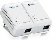 Digicom Adattatore di Rete Powerline 500Mbps 10100 - 8E4526 PL502E-A02