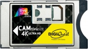Digiquest BUNDLETVSAT4K Smart Cam HD Modulo per TV + Scheda TivùSat 4K UHD