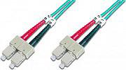 Digitus Cavo Fibra Ottica SCSC Multimode Duplex 50125 Metri 5 Om3 DK2522053