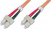 Digitus Cavo Fibra Ottica SCSC Multimode Duplex 50125 Metri 3 LP7299