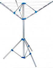 DIMAPLAST STENOMB3PIEDI Stendibiancheria verticale a Ombrello da Esterno 120x120x145 cm 20 mt