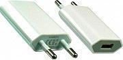 Dinic IP-PWR Caricabatteria da rete per Smartphone Telefono Cellulare USB Bianco
