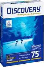 Discovery Risma Carta A4 75 grmq 500 fogli per Stampante - Eco Efficient