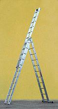 Marchetti 21116 Scala Alluminio telescopica 3x13 Gradini H 9.20 mt  A313