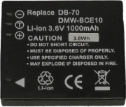 Dorr 980134 Batteria BCE-10E Panasonic Lumix 33 35 37 55 500  FS3 5 20 Ric