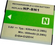Dorr NP-BN1 Batteria Sony Li-Ion Type