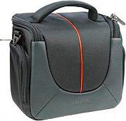 Dorr 456181 Borsa Custodia per Fotocamera Nero  Arancione  Yuma L