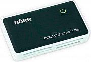 Dorr 990322 Card Reader Lettore di schede di memoria interfaccia USB 2.0