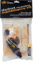Dunlop HE106 Kit accessori pulizia e manutenzione per clarinetto