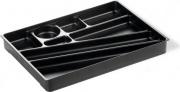 Durable 1712004058 IdealBox pen Tray Portaoggetti Carbone