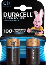 Duracell 5000394002852 Numero 2 batterie Ultra Power 2pz. C di tipo C