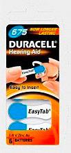 Duracell DA675N6 Batteria Speciale per Apparecchi acustici 1.4 v confezione 6 pz