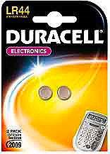 Duracell LR44 Confezione n° 2 batterie alcaline Tipo  Voltaggio 1,5 V 2