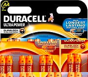 Duracell LR6MX15008 Confezione n° 8 batterie alcaline AA 1,5 V Ultra Power