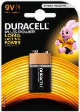 Duracell MN1604 PLUS Pila Batteria Alcalina 9V Plus Power