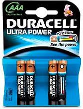 Duracell MX2400 Pile Mini Stilo AAA 1,5 V Confezione da 4 pile -  Ultra Power
