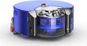 Dyson 360 Eye Heurist Robot Aspirapolvere 0.33 lt Senza Sacchetto Blu Nichel