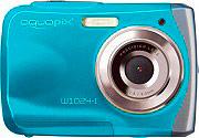 EASYPIX Fotocamera Subacquea Digitale 16 Mpx fino a 3 mt Blu W1024 aquapix