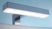 EFFE LUCE FA LAMP Applique LED Bagno Parete Interno 5 W 20x4 cm Sporgenza 3 cm