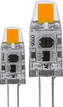 EGLO 11551 Coppia Lampadina capsula led 1.3 W 11 W G4 Bianco Caldo 2700 K
