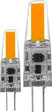 EGLO 11552 Coppia Lampadina capsula led 1.8 W 21 W G4 Bianco Caldo 2700 K