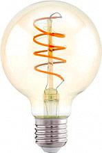 EGLO 11722 Lampadina LED Hv globo 4 W Attacco E27 Luce Bianco Caldo 2200 K